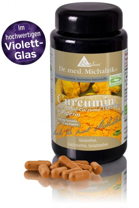 Curcumin forte aus Natur-Curcuma + Piperin