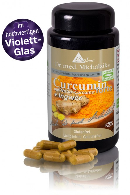 Curcumin forte aus Natur-Curcuma + Ingwer