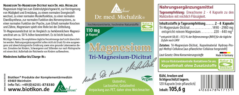 Blutdruck-Rezeptur AKM Extra - Biotikon